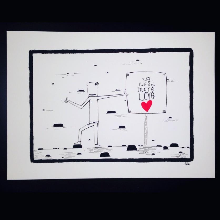 """Love is Everywhere"", 2015"