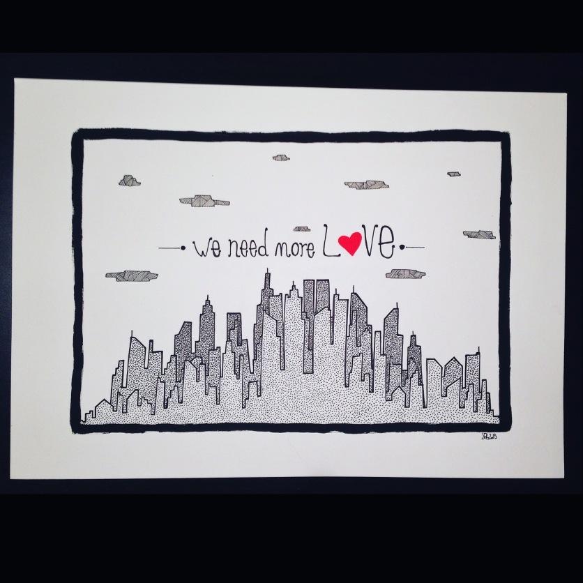 """Love City"", 2015"