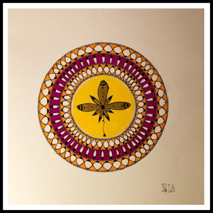 """""""Flowerandala"""", 2015"""